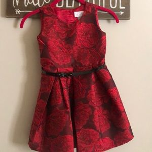 👗 Girls 5T Red formal dress 👗
